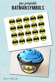 batman cupcake liners free printable laura u0027s crafty