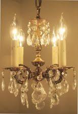 Vintage Chandelier For Sale Antique Chandeliers Fixtures U0026 Sconces Ebay