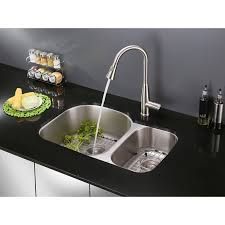 Kitchen Faucet Pull Out Spray Ruvati Rvf1228st Pullout Spray Kitchen Faucet U2013 Stainless Steel