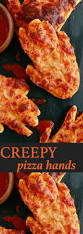 halloween treat halloween pizza creepy halloween ideas