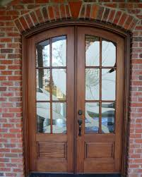 Frosted Glass Exterior Doors Etched Glass Exterior Doors