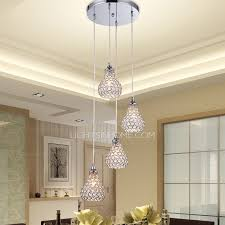 Bathroom Pendant Light Fixtures 4 Light Octagon Bead Bathroom Pendant Lights