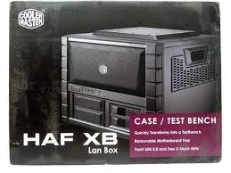 Cooler Master Test Bench Cooler Master Haf Xb Case Review