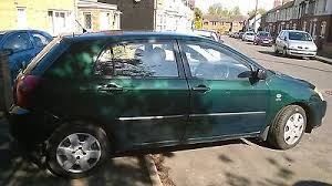 toyota corolla spares ebay toyota corolla spares or repairs carparts carrepair uk