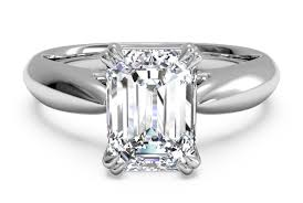 platinum solitaire rings images Flat edge solitaire engagement ring in platinum engagement ring wall png