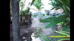 mist works patio misters restaurants resorts hotels