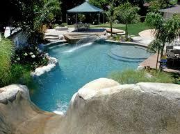 Water Slide Backyard Vacation Landscapes Diy