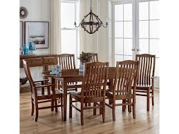 artisan u0026 post simply dining 7 piece solid cherry kitchen table