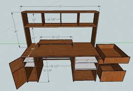 How To Make A Computer Desk Need Help Building Computer Desk Woodworking Talk Woodworkers