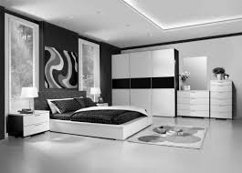 Black And White Bedroom Design Ideas For Teenage Girls Chic Bedroom Decor With Pink Stained Wooden Single Bed Master