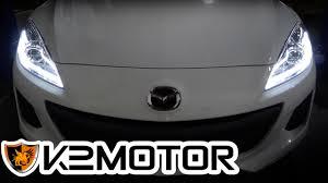mazda motor corp k2 motor installation video 2010 2013 mazda 3 projector