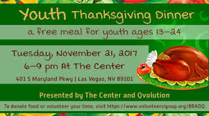 youth thanksgiving vegas local view