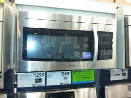 how to install over the range microwave without a cabinet smh1713s stainless steel over the range microwave review