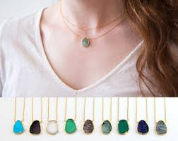 necklace etsy images Emerald necklace etsy jpg