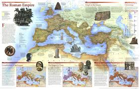 Geography Map National Geographic The Roman Empire Favorite Places And