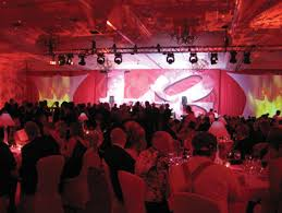 Valentines Day Stage Decor by Hospice Ball Pbs Affiliate Gala Lit By Bay Stage Lighting Plsn