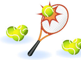 the tennis sports backgrounds for presentation ppt backgrounds