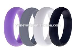 embossed silicone rubber wedding rings embossed silicone rubber