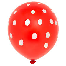 polka dot balloons 12 polka dot balloons 6ct kitchen dining