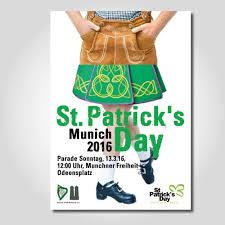 st patrick u0027s day parade munich irish bayrisch poster contest