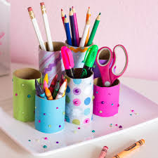 craft paper roll desk organizer 2017 projects pinterest