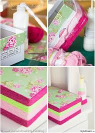 store chambre gar n pyssel diy garn skokartong boxes and wrapping