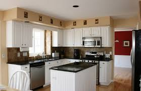 White Kitchen Cabinets With Black Granite Diverse Kitchen Ideas White Cabinets Black Granite Kitchen And Decor