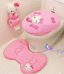 housse de siege hello hello salle de bains wc ensemble couvercle wc housse de siège