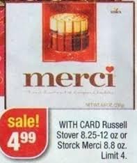 Where To Buy Merci Chocolates Rare 1 Off A Box Of Merci Chocolates Coupon U003d Only 3 99 At Cvs