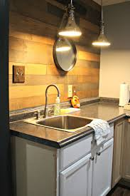 changes to the basement kitchenette from thrifty decor