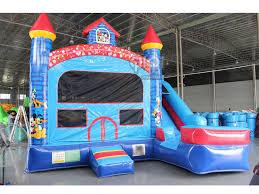 disney castle with slide qiqi toys inflatables