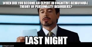 Psychology Memes - psychology expert iron man meme on memegen