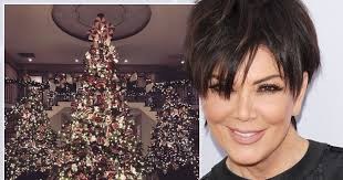 kris jenner hair 2015 kris jenner unveils most extravagant christmas decorations ever as