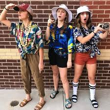 Tacky Tourist Halloween Costume Tacky Tourist Mah Girls Link Bio
