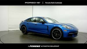 blue porsche 2017 2017 new porsche panamera rwd at porsche north scottsdale serving