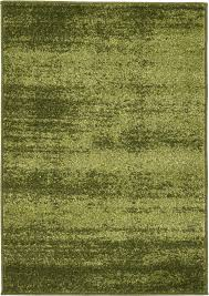 Olive Green Shag Rug Modern Multi Colors Area Rug Solid Frieze Rug Contemporary Carpets