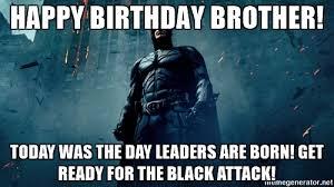 Happy Birthday Batman Meme - 20 birthday memes for your brother sayingimages com