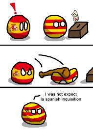 catalan independence referendum violence polandball
