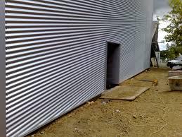 Decorative Metal Sheets Home Depot Installing Corrugated Metal Panels Best House Design