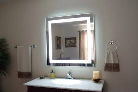 Illuminated Bathroom Wall Mirror - bathroom cabinets lofty design small bathroom mirrors lovely