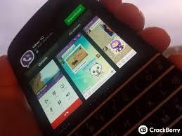 viber finally comes blackberry 10 crackberry com