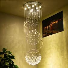Who Sings Crystal Chandelier Aliexpress Com Buy Round Ball Chandelier Living Room Modern