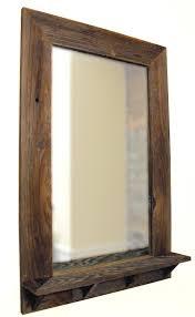 Cool Bathroom Mirror Ideas by Best 25 Bathroom Mirror With Shelf Ideas On Pinterest Framing