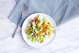 almond apricot celery salad recipe myfooddiary