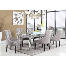 silver kitchen u0026 dining room sets you u0027ll love wayfair