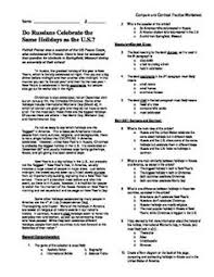fifth grade freebies free worksheets to compare and contrast a