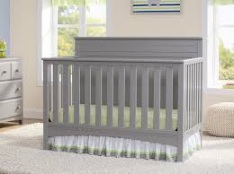 amazon com delta children fancy 4 in 1 crib grey baby