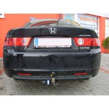 towing with honda accord towbar honda accord 4dr cl7 from 2003 to 2008