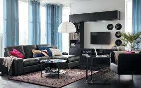 Ikea Living Room Furniture Sale Ikea Living Room Furniture A Living Room Furnished With A Black