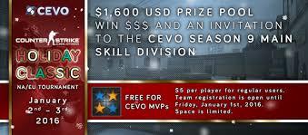 classic cs go tournament jan 2 3 2016 1 600 usd prize pool
